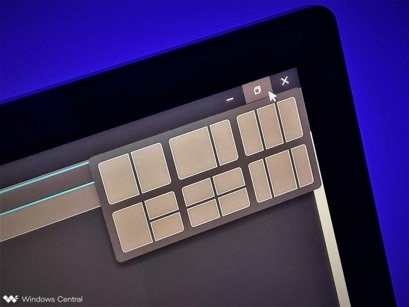 Héroe del menú de ajuste de Windows 11