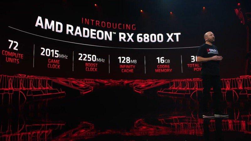 Estadísticas de AMD Radeon Rx 6800.