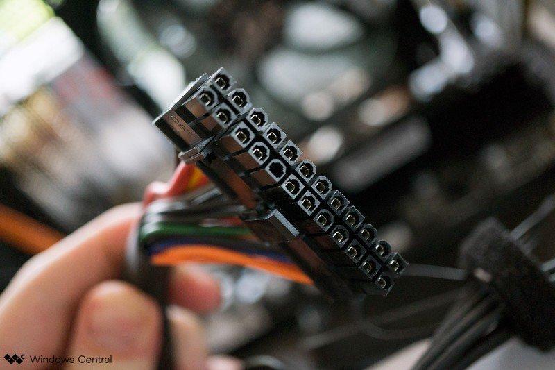 Cable de PSU
