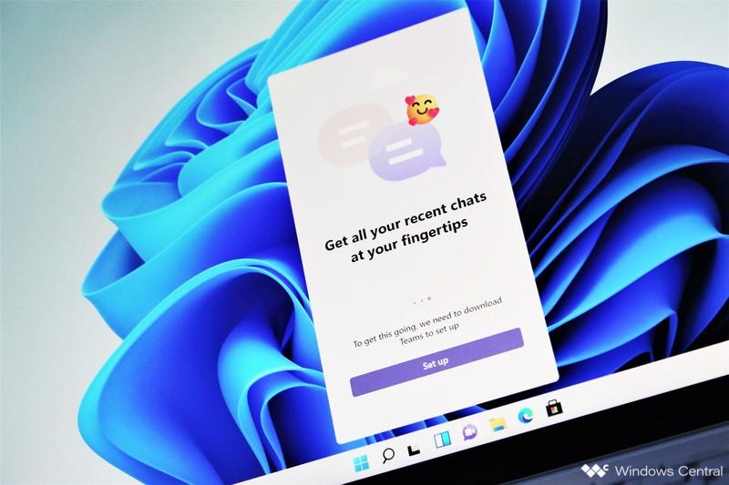 Configuración de chat de Windows 11