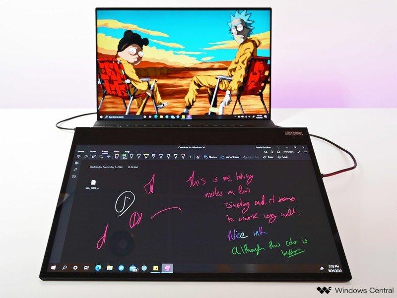 Tinta Lenovo Thinkvision M14t