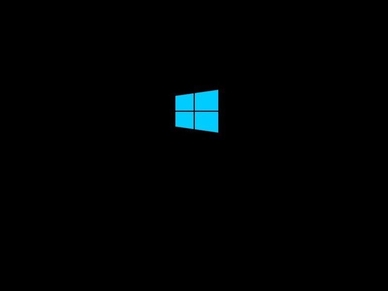 Logotipo de arranque de Windows 10