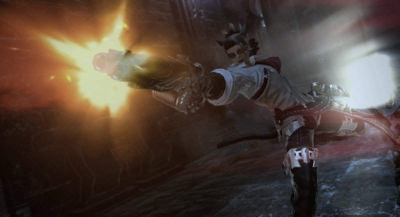 Técnico de Final Fantasy Xiv.