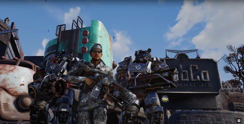 76 avance de Fallout Steel Dawn