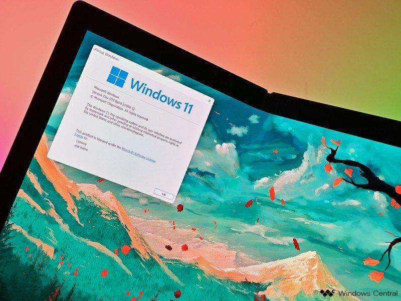 Logotipo de Windows 11 en 6 pliegues