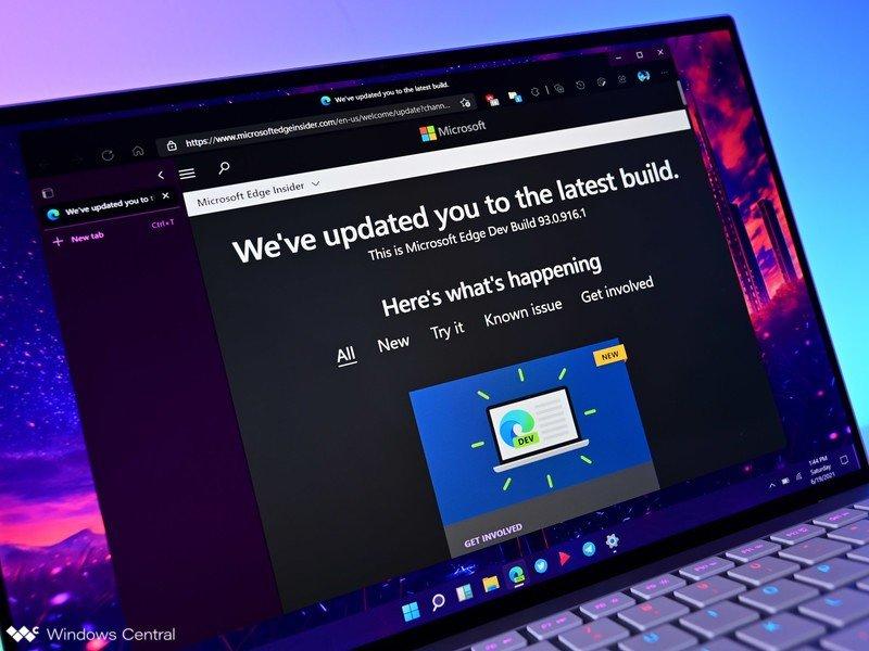 Nueva actualización para desarrolladores de Microsoft Edge