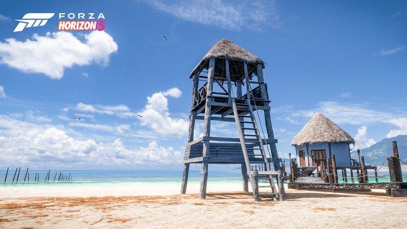 Captura de pantalla de Forza Horizon 5 Tropical Beach