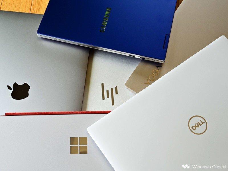 Apple Dell Ms Yoga Laptop Logotipo Hp