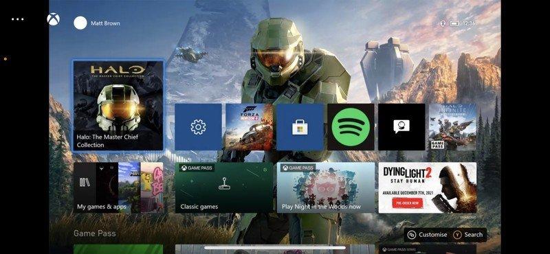 Inicio de Xbox Remote Play