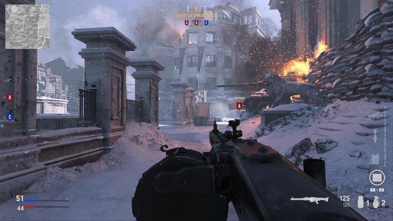 Vista previa de Call Of Duty Vanguard Multiplayer Beta Snow