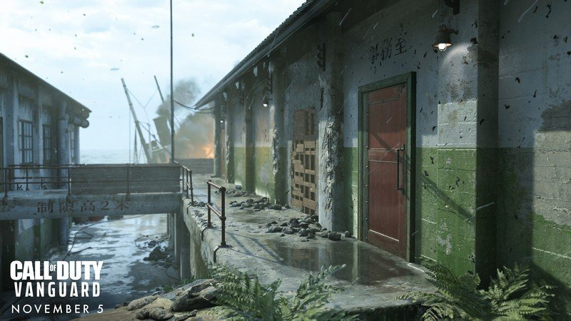 Gavutu Dock Multijugador Call Of Duty Vanguard