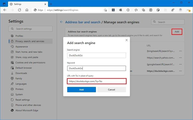 Motor de búsqueda personalizado