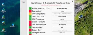 WhyNotWin11 es una aplicación gratuita, altamente visual y de código abierto que advierte de los requisitos que tu PC no cumple para usar Windows 11