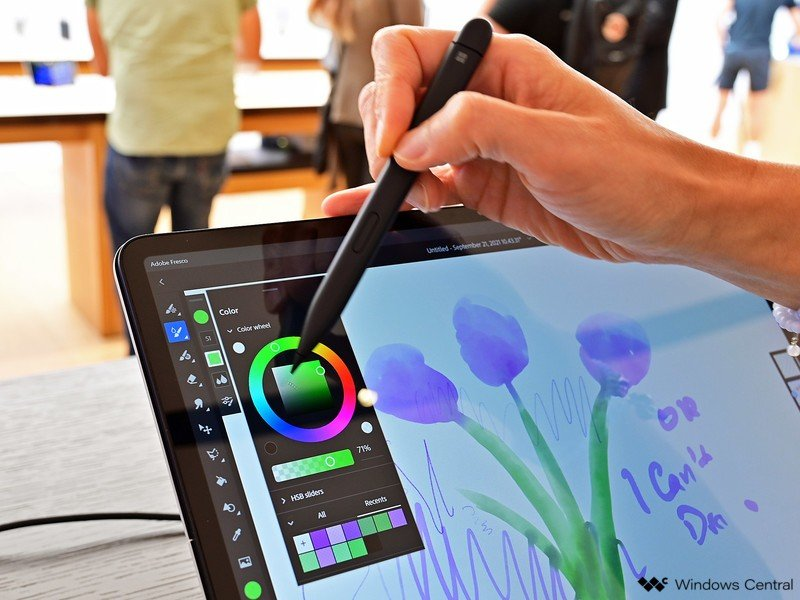 Dibujo de Surface Laptop Studio