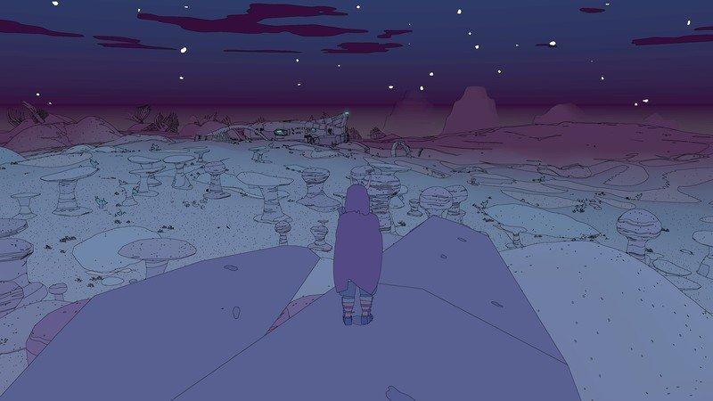 Captura de pantalla de Sable Nightfall Wyrm