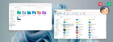 """Unos días después del lanzamiento de Windows 11, el """"Nuevo"""" El Explorador de archivos es un completo desastre"""