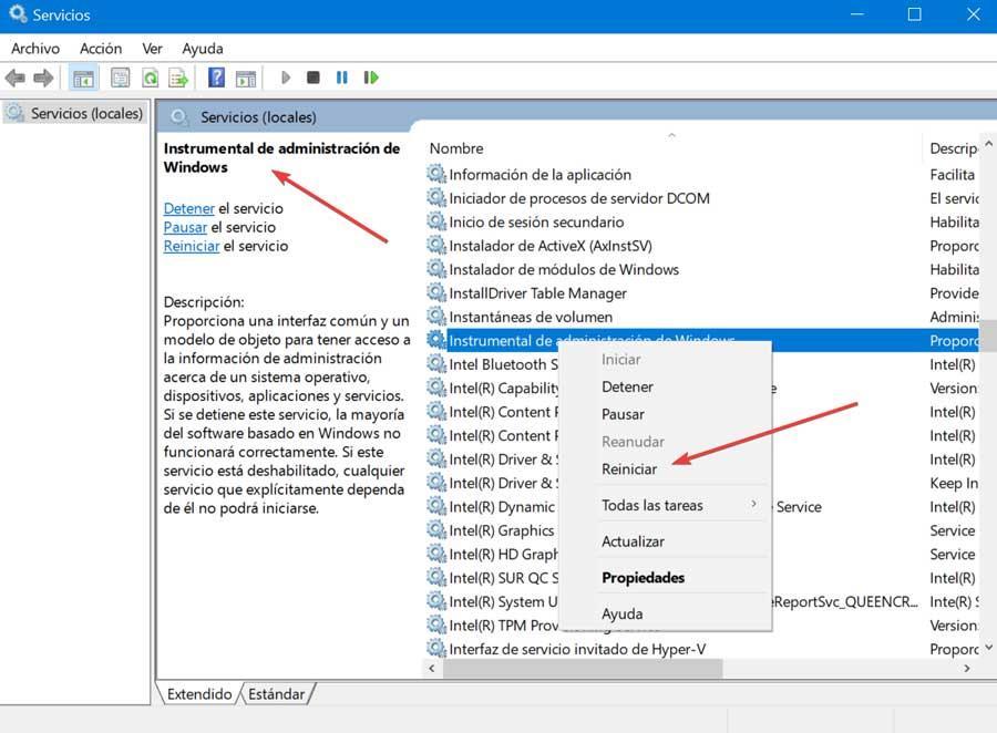 Herramientas de administración de Windows