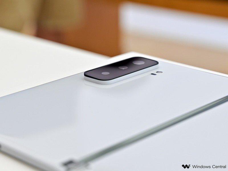 Surface Duo 2 Camera White Bump