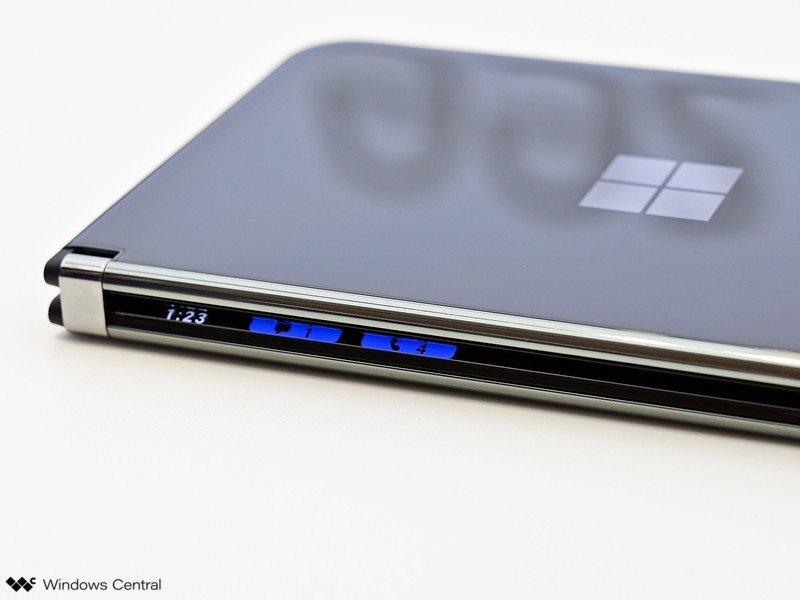Notificaciones de la barra de vista de Surface Duo 2