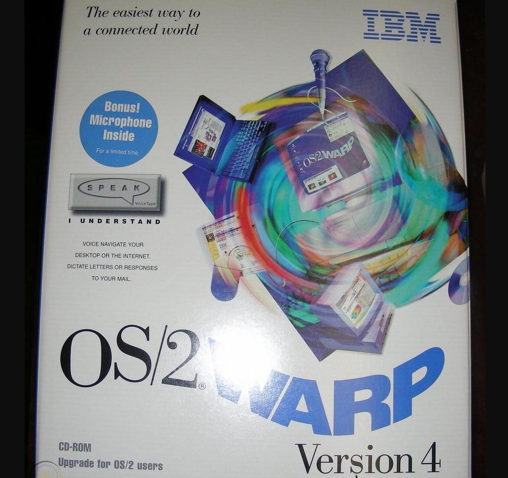 25 años de IBM OS / 2 Warp 4, la batalla final contra Windows 32