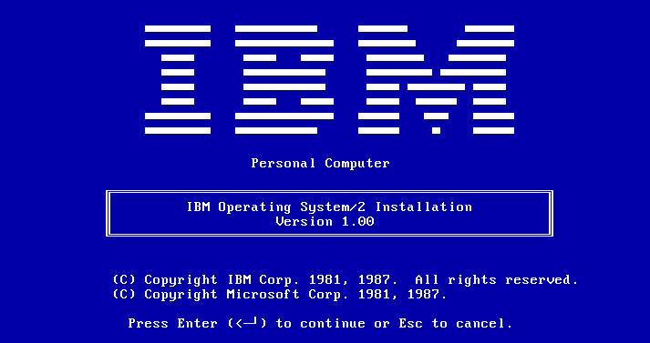 IBM OS / 2 Warp 4