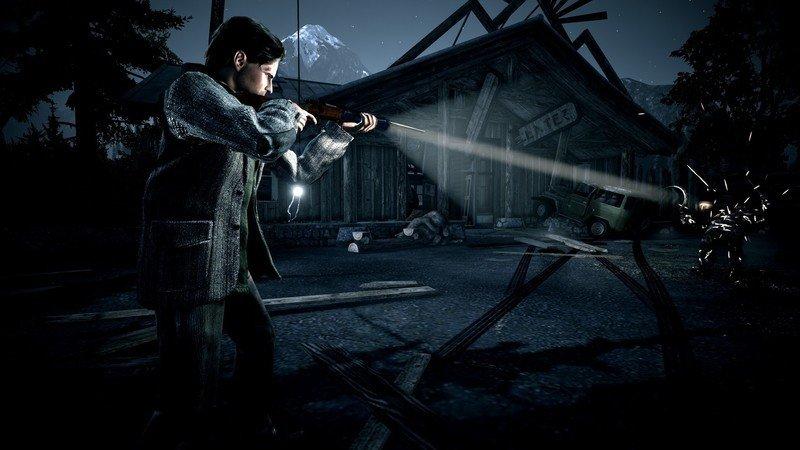 Alan Wake. Rifle
