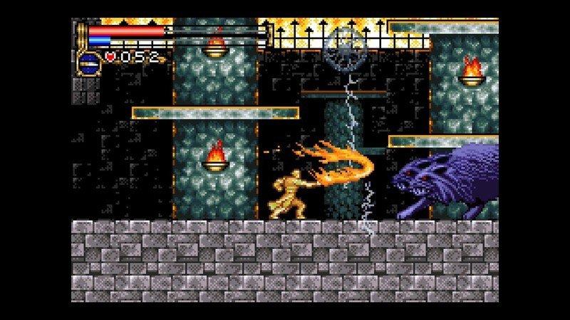 Capturas de pantalla de Castlevania Advance Collection