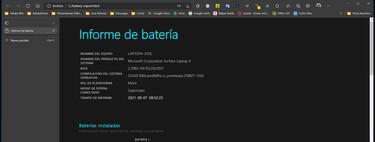 Por tanto, puede acceder a un informe completo sobre el estado de la batería en Windows 10 y Windows 11