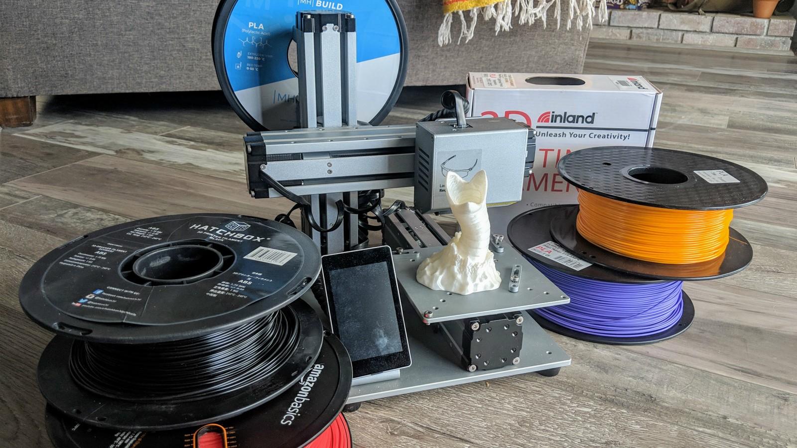 Filamentos e impresoras