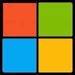 Microsoft Logo Cuadrado Transparente