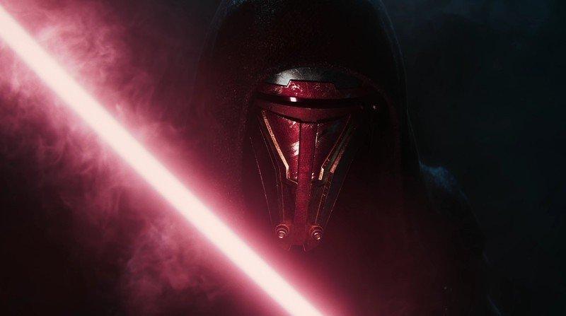Star Wars Caballeros de la Antigua República Remake Revan Closeup