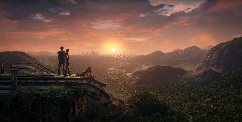 Captura de pantalla de la colección Legacy de Uncharted Thief