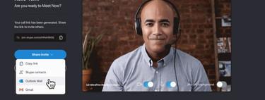 Meet Now es la nueva función para poder realizar una videollamada con Skype en unos pocos clics e incluso si no tenemos la aplicación instalada